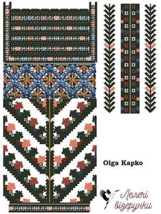 Embroidery Stitches, Embroidery Patterns, Cross Stitch Patterns, Folk Art, Projects To Try, Album, Traditional, Inspiration, Punto De Cruz
