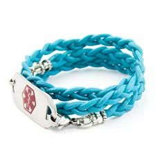 Turquoise Medical ID Wrap Bracelet - what a wonderful site - Look here if you need a Medical bracelet