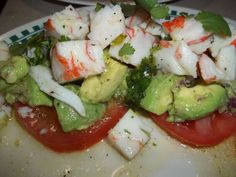 Adventures in Life with Great Food: Chile-Lime Crab Salad Crab Salad, Caprese Salad, Great Recipes, Chile, Friday, Menu, Food, Menu Board Design, Essen