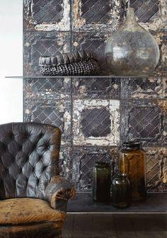 Woonblog my industrial interior: Heel apart: tegels op de muur