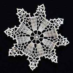 Crochet Snowflake #10