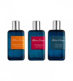Collection Azur Eau de Parfums dans Figuier Ardent, Mandarine Glaciale, Sud Magnolia et Cèdre Atlas