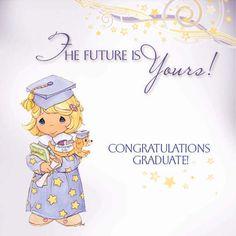 precious moments images clipart | Preciosos momentos graduación ...