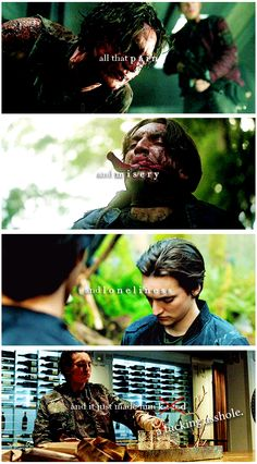 John Murphy || The 100 || Richard Harmon || and f*** ***hole that I love || I'm sorry for the cussing just had to post it