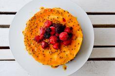 Vegie Head » Summer Passion Raw Cheesecake