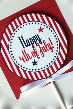4th of July Printable Design via @The TomKat Studio