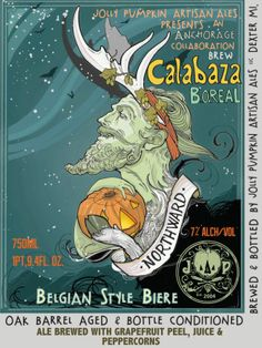 Adam Forman and the beer labels of Jolly Pumpkin