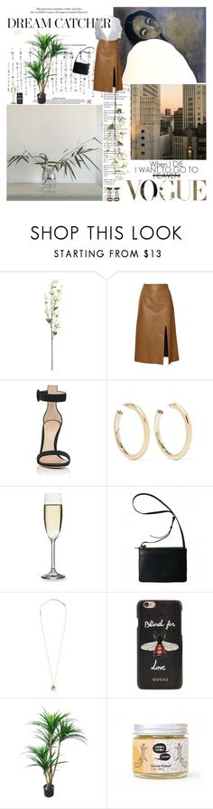 """Без названия #2104"" by azaliya ❤ liked on Polyvore featuring Thakoon, Gianvito Rossi, Kenneth Jay Lane, Sur La Table, Marc Jacobs and Gucci"