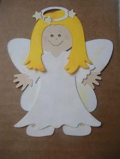 Angel Cricut Doll
