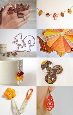 Fall inspirations by Roberta on Etsy--Pinned with TreasuryPin.com