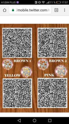 Animal Crossing Qr, Qr Codes, New Leaf, Pink Yellow, Paths, Nintendo, Doodles, Stones, Coding