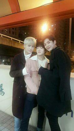 Taeyang, Chani, Rowoon