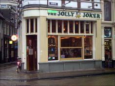 Jolly Joker Coffee Shop in Amsterdam!  :)))))))