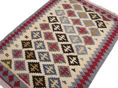 ペルシャキリム 玄関マット ラグサイズ 85×119㎝ - ペルシャ絨毯・キリム・ギャッベ専門店 ペルシャンハウス