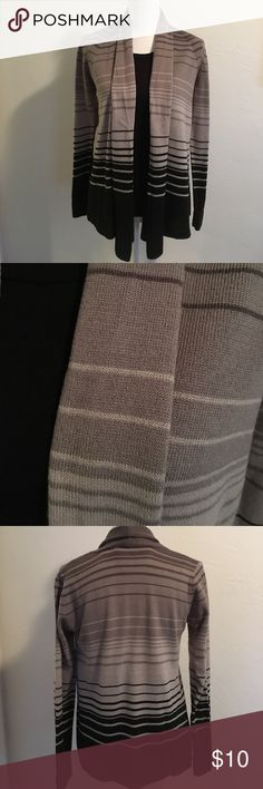 Gray & Black sweaters. Black charter club sweater armpit to armpit is 15 1/2 inches. It does stretch. Length is 22 inches. Hampshire sweater armpit to armpit is 17 inches. Length is 25 1/2 to 28 1/2 at longest part. Sweaters