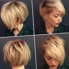 Her saç rengine ve her saç tipine uygun olan Bob saç modeli en çok dalgalı saç yapısına yakışmaktadır. Kısa Bob Saç Kesimi Doğal Yan Kahküller