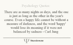 There are as many nights as days and the one is just as log as the other in the year's course...
