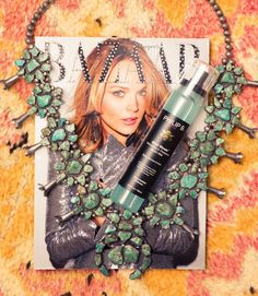 Hairstylist Adir Abergel On Inspiration, Social Media, and More: Harper's Bazaar Magazine, Hair Product, Turquoise Chunky Necklace | coveteur.com