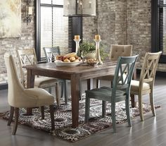 Mestler 7-Piece Table Set by Signature Design by Ashley