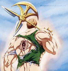 Anime Echii, Anime Nerd, Escanor Seven Deadly Sins, Demon King Anime, 7 Sins, Seven Deady Sins, Amaterasu, Animes Wallpapers, Character