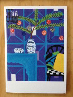 Christmas Card by ZanaLokmerDesign on Etsy, $4.00