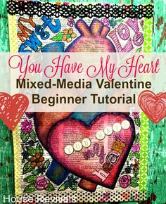 House Revivals: Anatomical Heart Valentine {Tutorial}