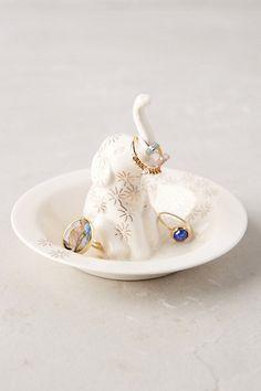 Bathing Elephant Trinket Dish #anthropologie