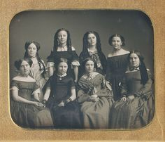 Fashions From The Past — daguerreotypeimages:  A VERY LOVELY OCTET!   (via...