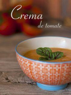 Bocados dulces y salados: Crema de tomate