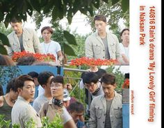 "On Location Filming Upcoming Drama.... ""My Lovely Girl"""