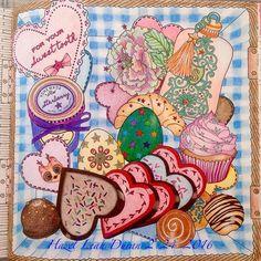 Instagram media colorwithhazel - A box of sweets for my Mom! It's my Mom*s birthday 祝福您, 生日快樂 , 萬事如意!! 人圓月圓事事圓!! #劉錦絲 #timechamber #dariasong #hazelleahduran #February24,2016 #adultcoloringbook