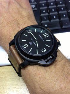 Black Oficine Panerai, mi marca favorita, al menos un réplica debo tener