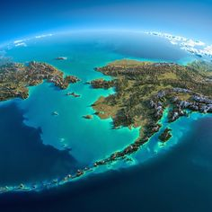 Alaska - Fascinating Relief Maps Show The World's Mountain Ranges