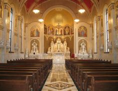 Sacred Heart Church Peoria IL Whenever we visit Peoria,  this is my favorite place to worship.