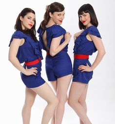 The Langley Trio | Retro Harmony Group | www.contrabandevents.com