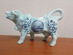 Vintage Colorful Colorado Cow Creamer. Like New by ShaBFinds