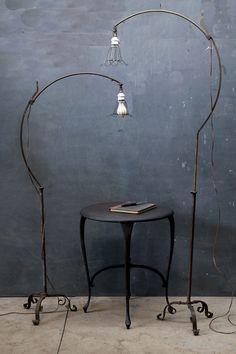 Question mark lamp design. Cool