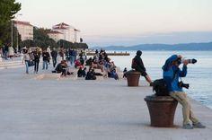 Zadar Die Meeresorgel Seewasserorgel Morske Orgulje Kroatien mit dem Auto