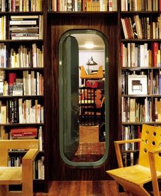 """Architectural Digest: """"Inside Oscar Niemeyer's only residential project in the U., a door designed by Charlotte Perriand…"""" Oscar Niemeyer, Architectural Digest, Architecture Restaurant, Interior Architecture, Restaurant Design, Homeless Housing, Hidden Rooms, Hidden Spaces, Up House"""