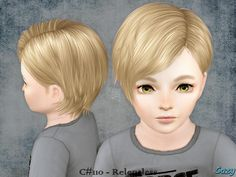 Cazy's Relentless - Hairstyle - Toddler