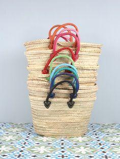 Colourful Souk Baskets | Bohemia