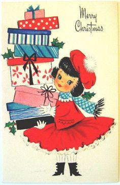 Hallmark Vintage Card Merry Christmas e christmas cards Old Time Christmas, Christmas Ecards, Merry Christmas Greetings, Old Fashioned Christmas, Christmas Past, Christmas Greeting Cards, Hallmark Christmas, Christmas Svg, Merry Xmas