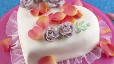 Herzförmige Torte