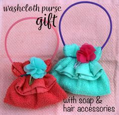 DIY Washcloth Purse