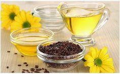 Für ewig schlank: Leinöl und Nachtkerzenöl helfen bei der Fettverbre...