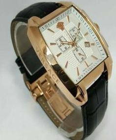 Buy Versace Character Chrono Leather Watch from ABBEYDIDI at ₦50000.00 on Bargain Master Nigeria Online Shopping Sites, Versace, Watches, Amp, Leather, Stuff To Buy, Character, Accessories, Wristwatches