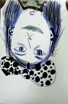 """Tra occhio e mano / Fusignano """"Il Granaio"""" / 6-12-14 I 18-1-15 / disegno di Alice"""