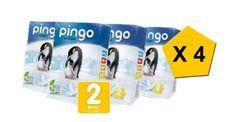 Pingo - Pannolini taglia 2-3/6 Kg, confezione da 228 [Francia] € 68,20