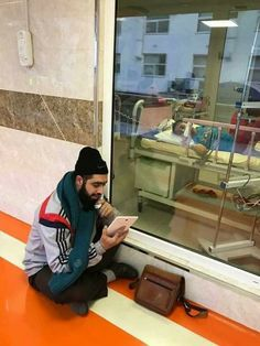 This Iranian boy has cancer, yet his teacher comes to him everyday in hospital to fill him in on what he has missed at school. Islam Religion, Faith Hope Love, Cancer, Teacher, School, Boys, Iranian, Fill, Students