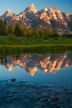 Schwabacher Landing, Grand Teton National Park, Wyoming; photo by Andy Cook